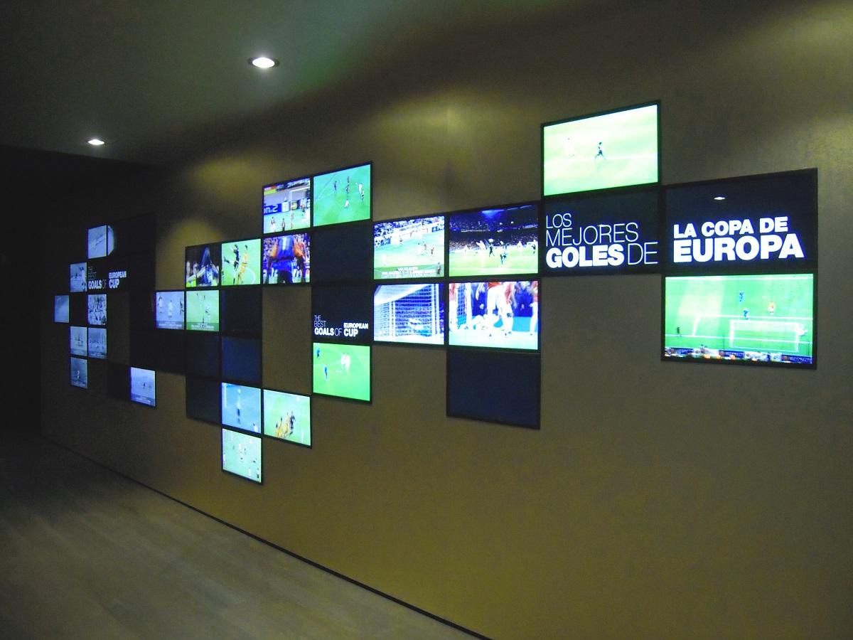 Museo Real Madrid.Museo Real Madrid Segunda Fase Madrid Unitecnic